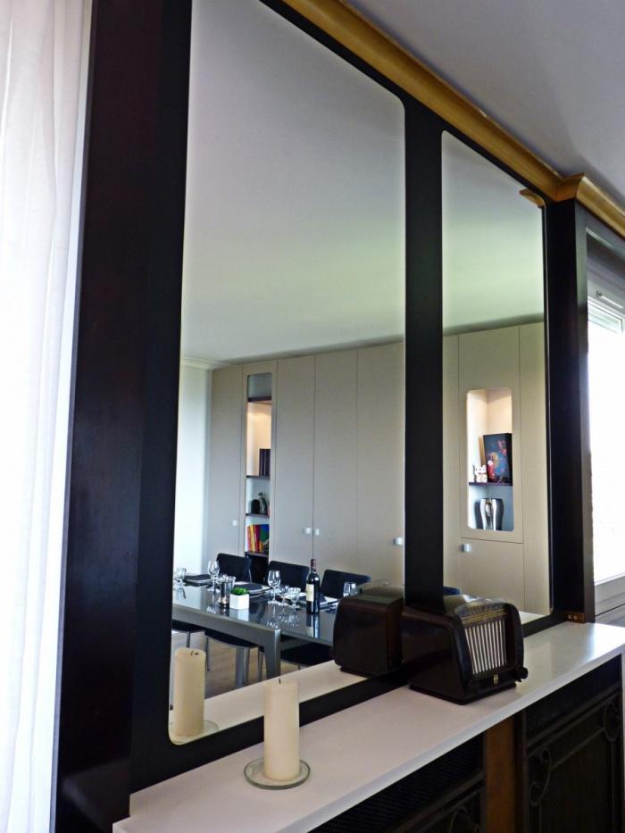 r novation d 39 un appartement et cr ation de mobilier sur mesure paris une r alisation de. Black Bedroom Furniture Sets. Home Design Ideas