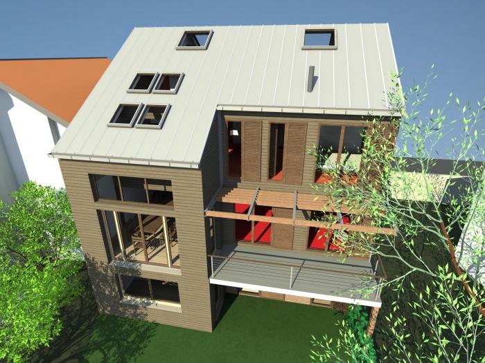 architectes immeuble bois finlande. Black Bedroom Furniture Sets. Home Design Ideas
