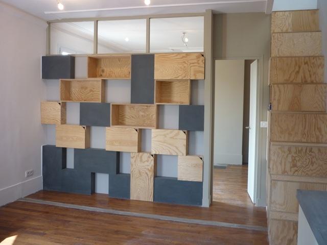 Rénovation et réorganisation d'un appartement classique