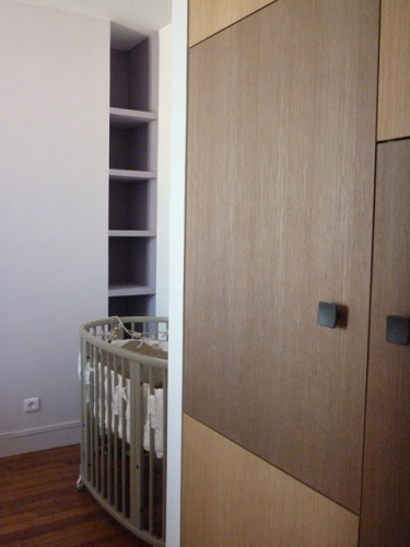 Aménagement des chambres à l'étage d'un duplex : chambre enfant