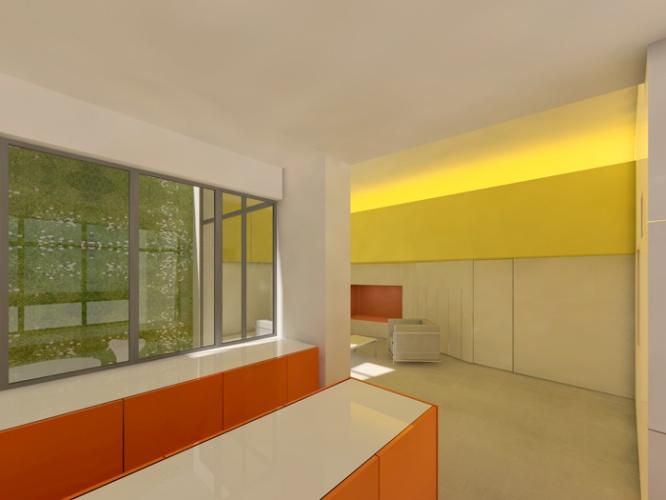 Appartement en rez-de-chaussée : 012 BD
