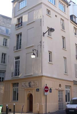 Réhabilitation d'un immeuble parisien