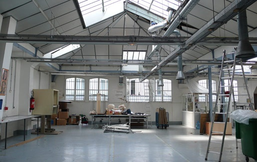 Architectes transformation d 39 un ancien atelier de couture en - Hangar transforme en loft ...