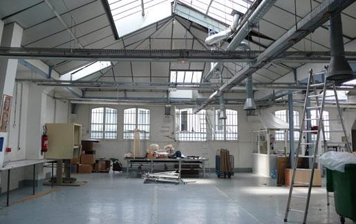 Transformation d'un ancien atelier de couture en deux lofts