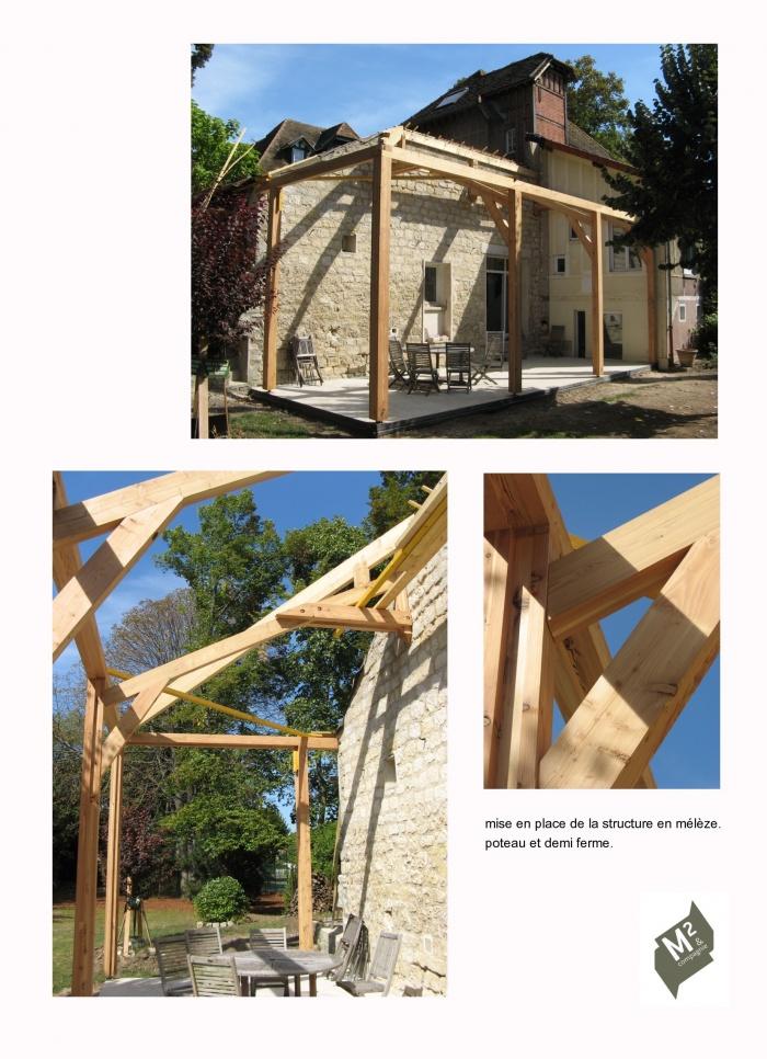 architectes extension bois en m l ze rueil malmaison. Black Bedroom Furniture Sets. Home Design Ideas