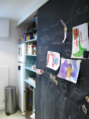 Rénovation et réorganisation d'un appartement classique : cuisine