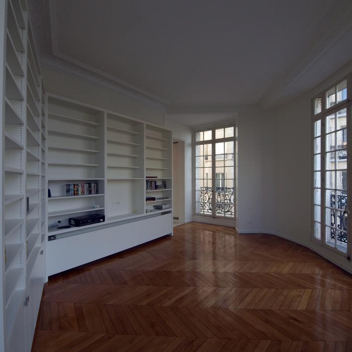 Appartement Breteuil : Petit salon