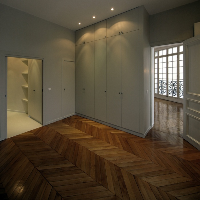 Appartement Breteuil : Chambre des invités