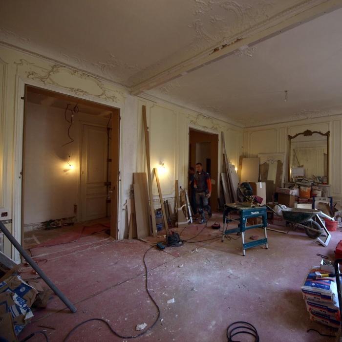 Appartement Breteuil : Salon