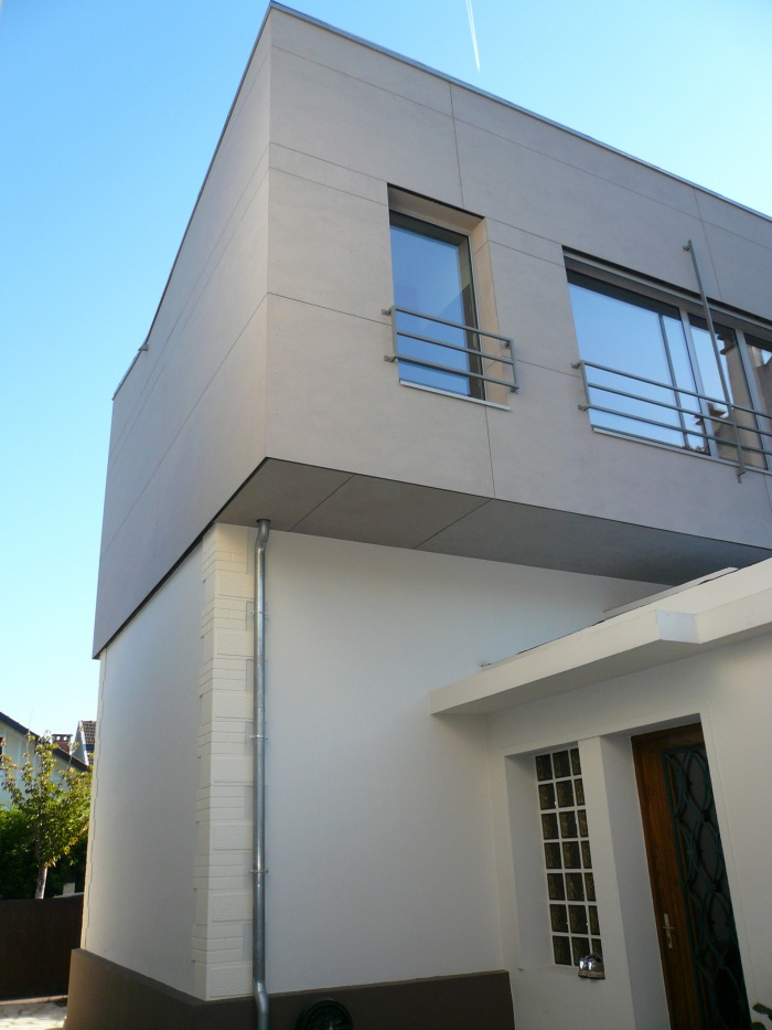 architectes sur l vation d 39 une maison de ville antony 92 antony. Black Bedroom Furniture Sets. Home Design Ideas