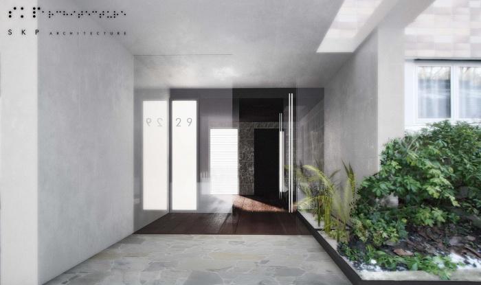 Réhabilitation lourde d'un immeuble de logement collectif