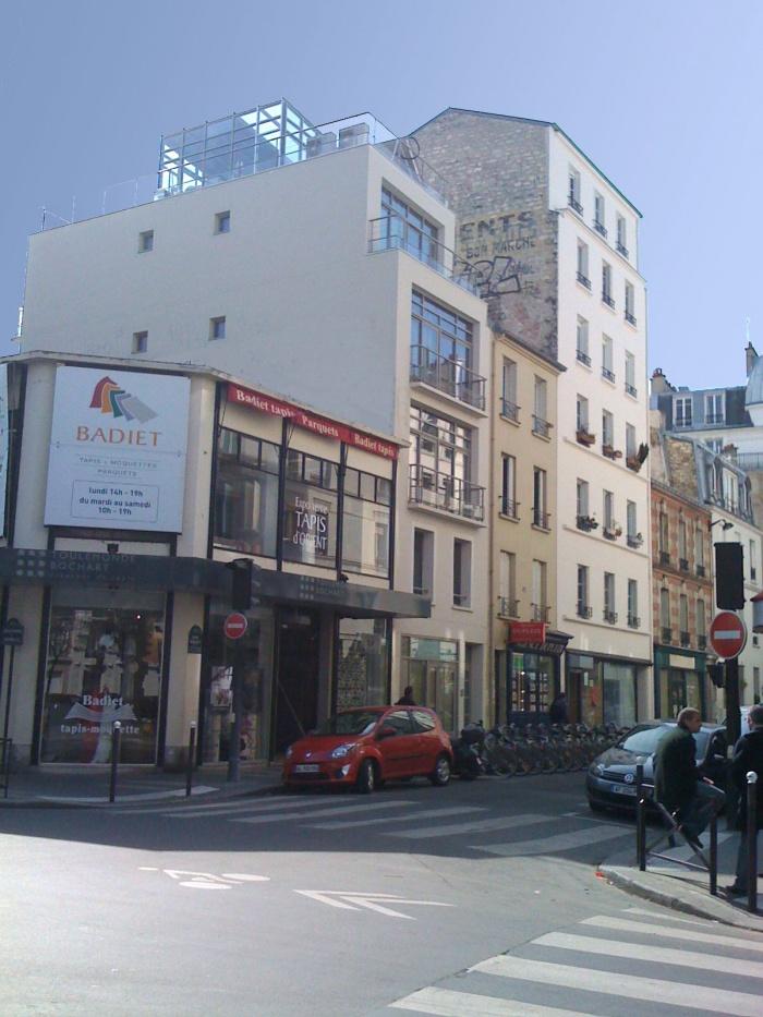 3 rue violet 75015 paris paris une r alisation de juliette buvat. Black Bedroom Furniture Sets. Home Design Ideas