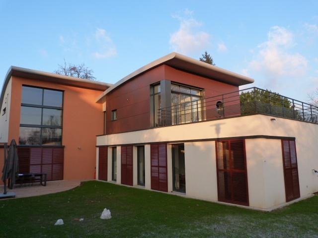 89 maisons ossature acier ou mixte acier bois d for Maison container nc