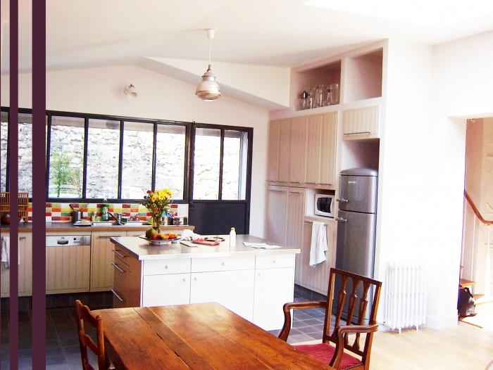 extension maison individuelle ile de france une r alisation de r gis secq. Black Bedroom Furniture Sets. Home Design Ideas