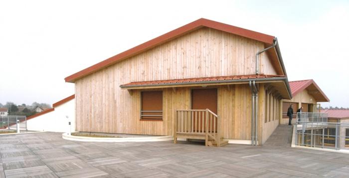Ecole Maternelle St-Augustin : Terrasse