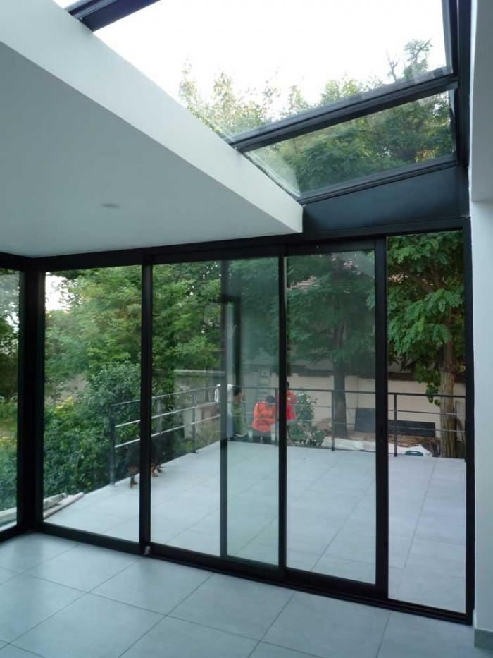 extension joinville joinville le pont une r alisation de nim architecture. Black Bedroom Furniture Sets. Home Design Ideas