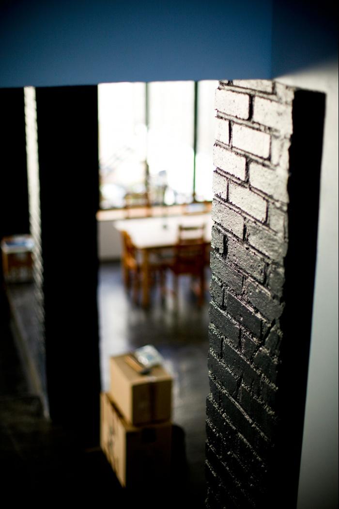 Loft à Ivry : Vue salon 3