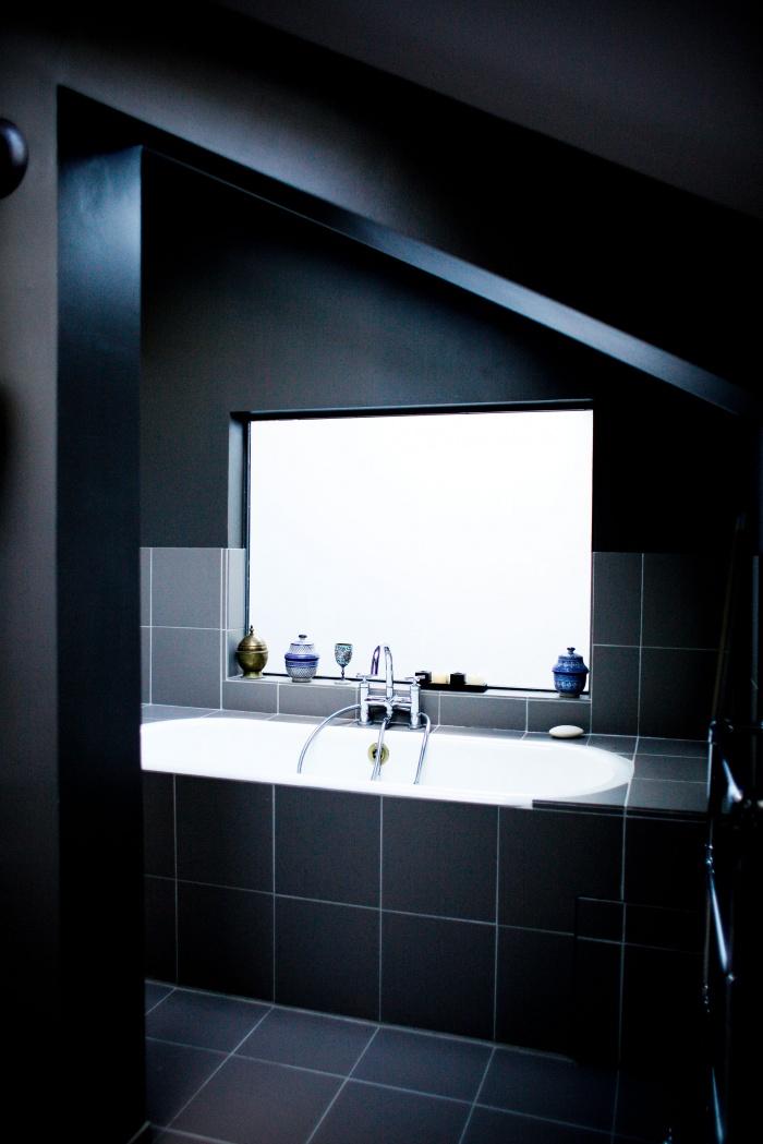 Loft à Ivry : Vue salle de bain