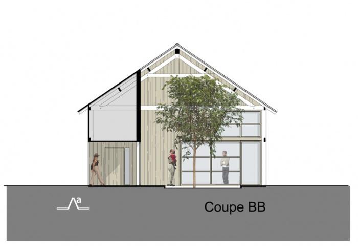 Transformation d'une grange en logement