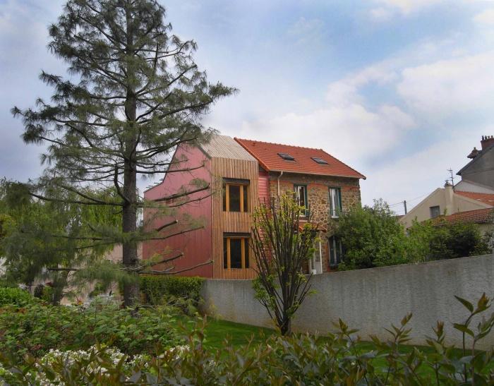 Extension en bois HQE : 2