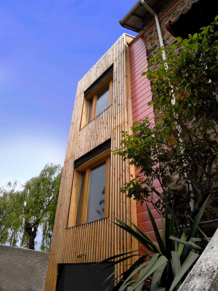 Extension en bois HQE : 8