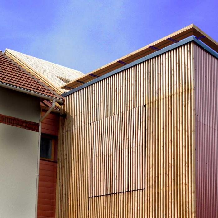 Extension en bois HQE : 12