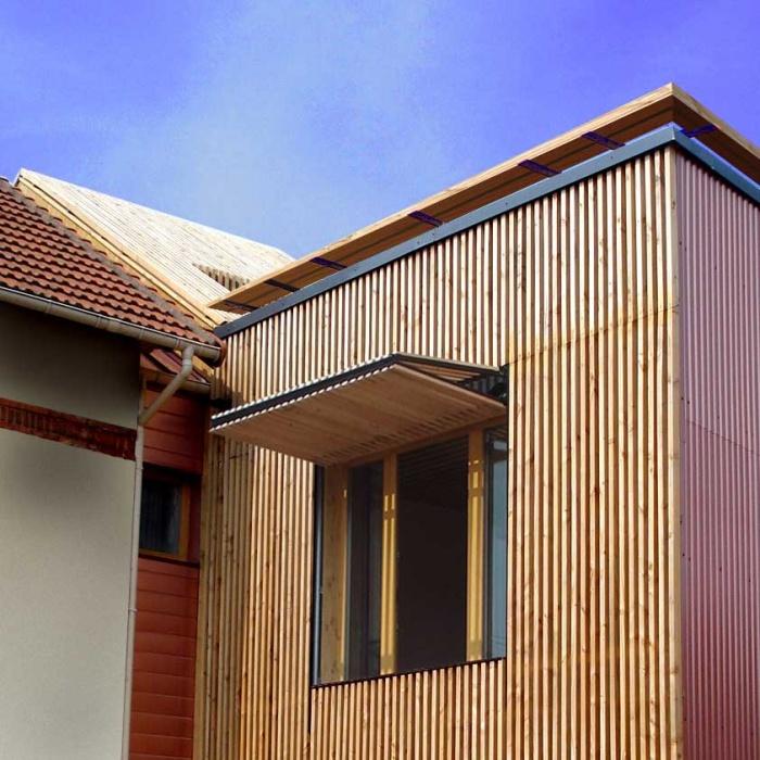 Extension en bois HQE : 13