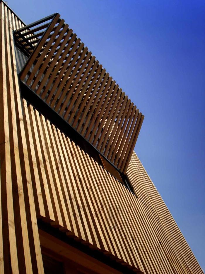 Extension en bois HQE : 15