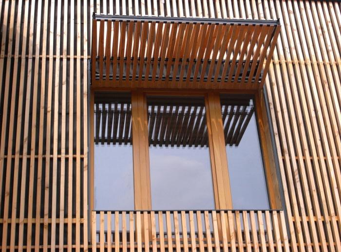 Extension en bois HQE : 17