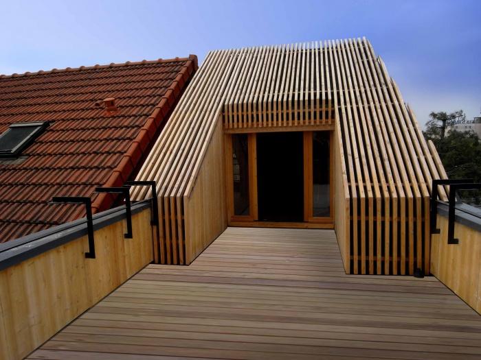 Extension en bois HQE : 30