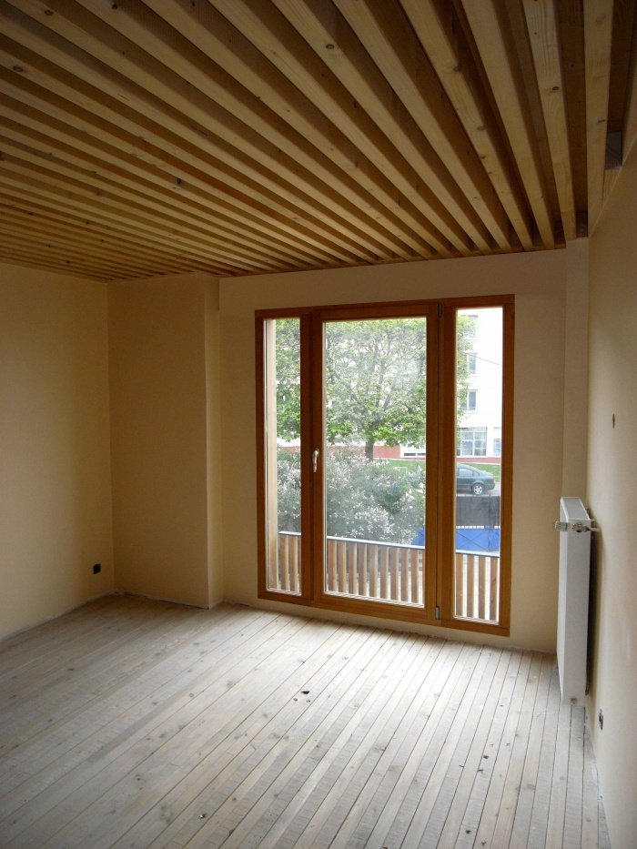 Extension en bois HQE : 34