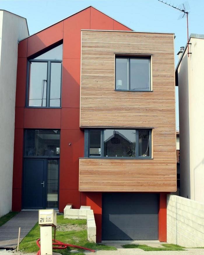 architectes maison en ossature bois houilles. Black Bedroom Furniture Sets. Home Design Ideas