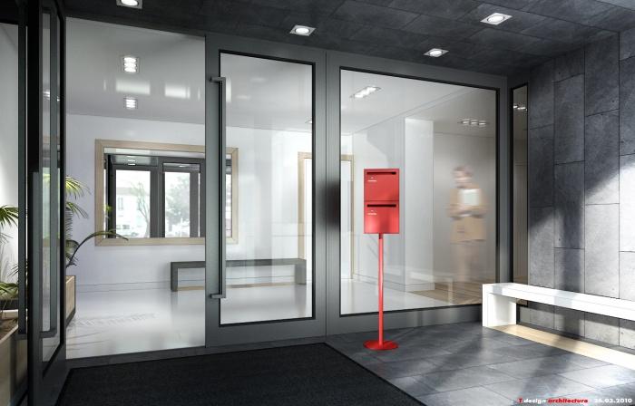 architectes un hall d 39 immeuble nanterre. Black Bedroom Furniture Sets. Home Design Ideas