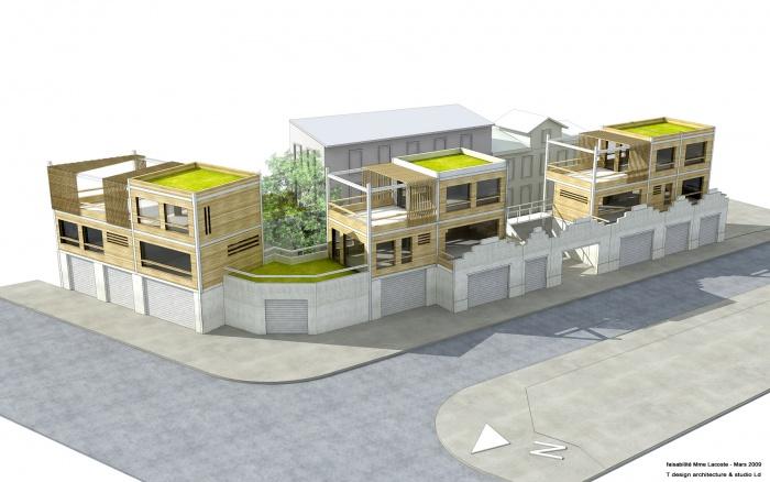 3 maisons de ville à Vanves