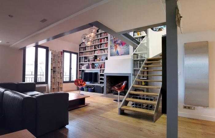 Un loft en duplex + terrasse