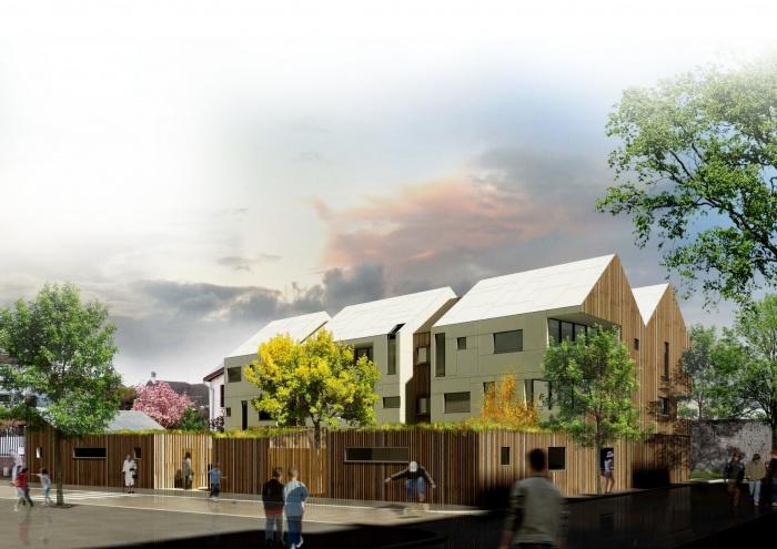 Architectes un hall d 39 immeuble nanterre for Architecte montargis