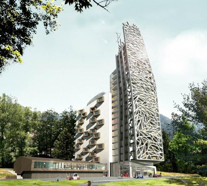 un complexe hotelier en Pologne