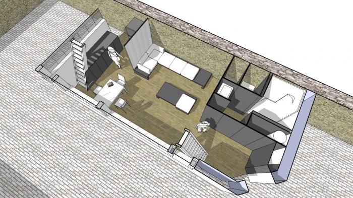 Architectes r habilitation d 39 un hangar sur for Renovation hangar en habitation