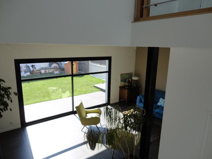 Extension et restructuration d'une maison de ville, Bois Colombes : 7-Bois Colombes-salon 4.jpg