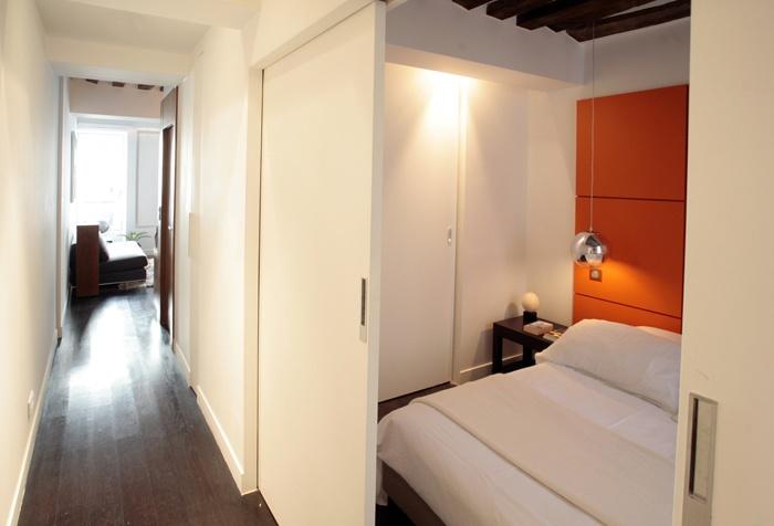 Appartement rue d'Aboukir : Chambre