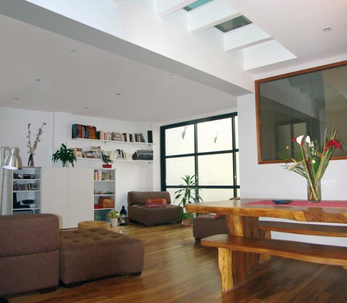 Rénovation d'un atelier en lieu d'habitation