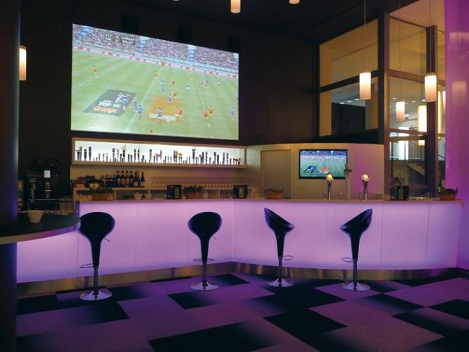Bar des loges au Stade de France