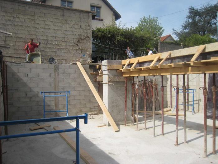 Maison en bois à Montlignon (95) : .../// 11 avril 2011 ///...