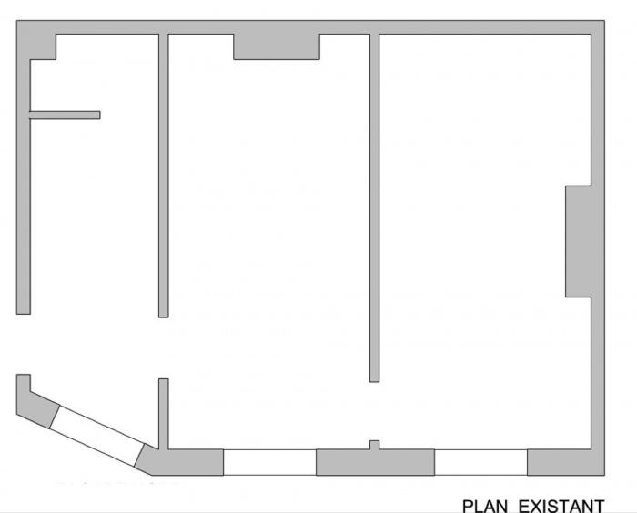 Renovation d 39 un mini appartement paris 19 une - Mini appartement ...