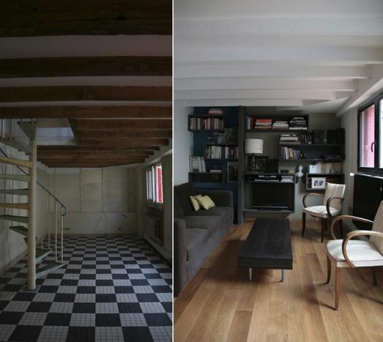 architectes r novation compl te d 39 une maison individuelle bagnolet. Black Bedroom Furniture Sets. Home Design Ideas