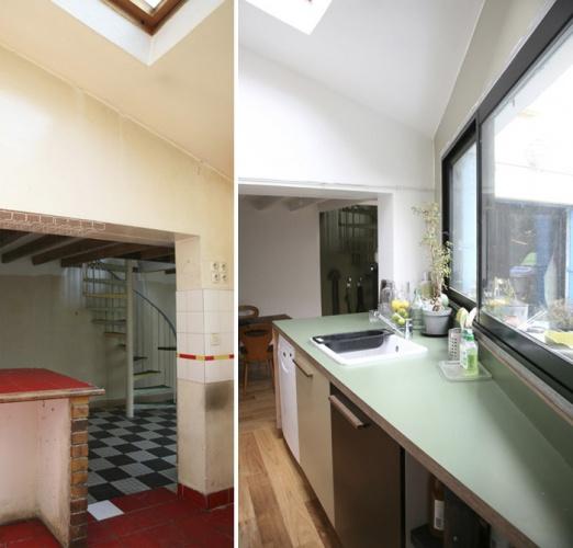 Rénovation complète d'une maison individuelle : Cuisine