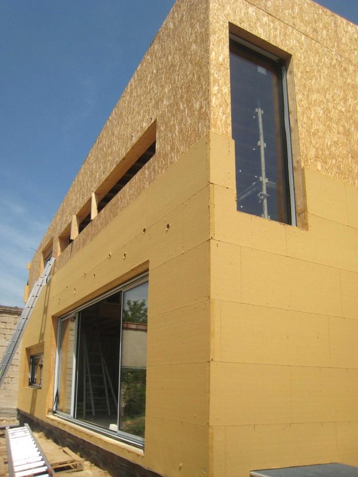Maison en bois à Montlignon (95) : .../// 27 juin 2011 ///...