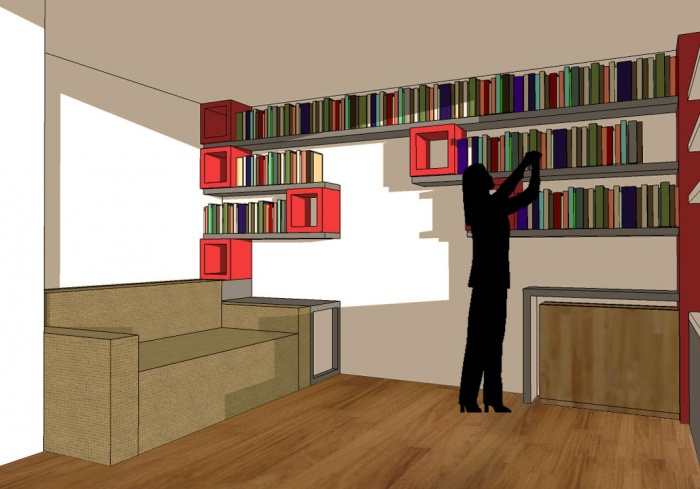du rangement mobilier sur mesure paris 11 une r alisation de lgarchitecture. Black Bedroom Furniture Sets. Home Design Ideas