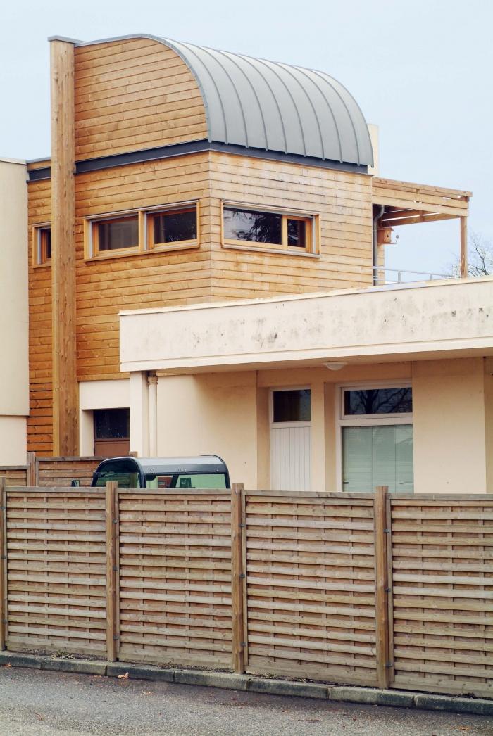Extension maison individuelle bois :