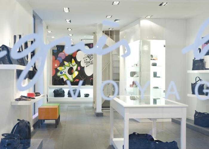 Boutique Agnès B., rue du Jour